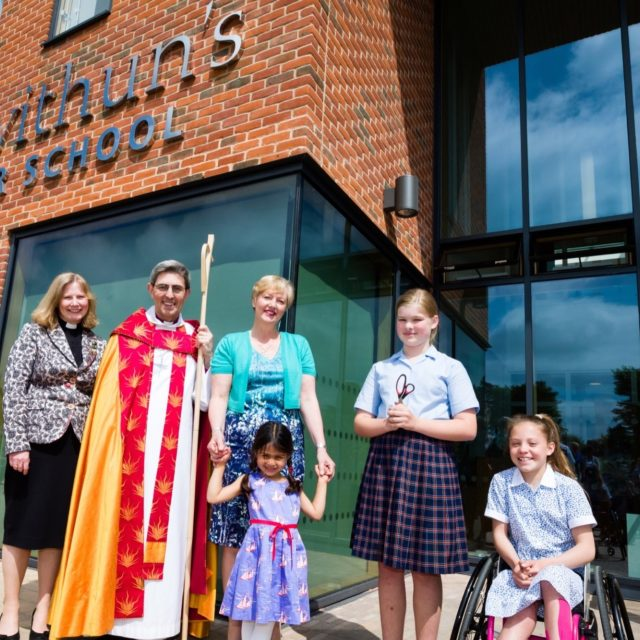 St Swithun's School: Dedication and Blessing
