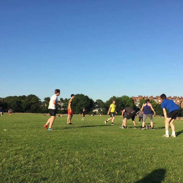 Football on the Heath