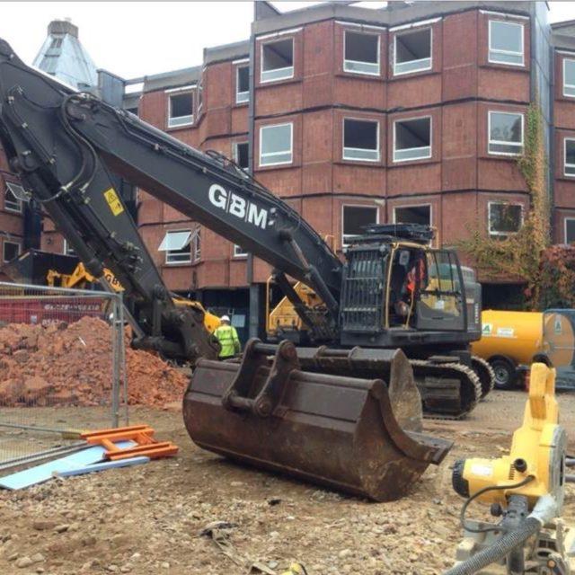 Demolition Starts at Newnham