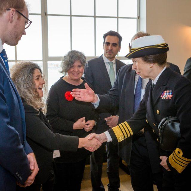 HRH The Princess Royal Visits Boathouse 4