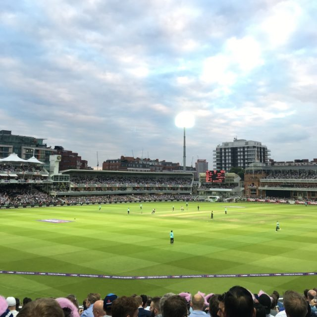 An Evening at Lord's