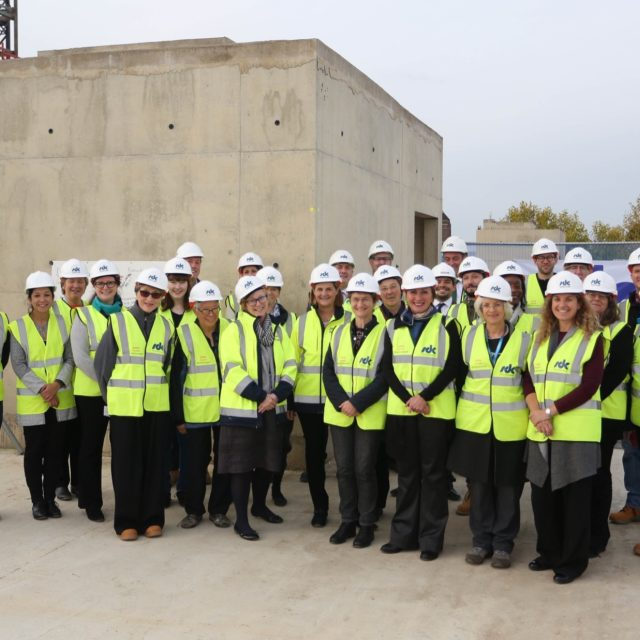 Newnham Tops Out