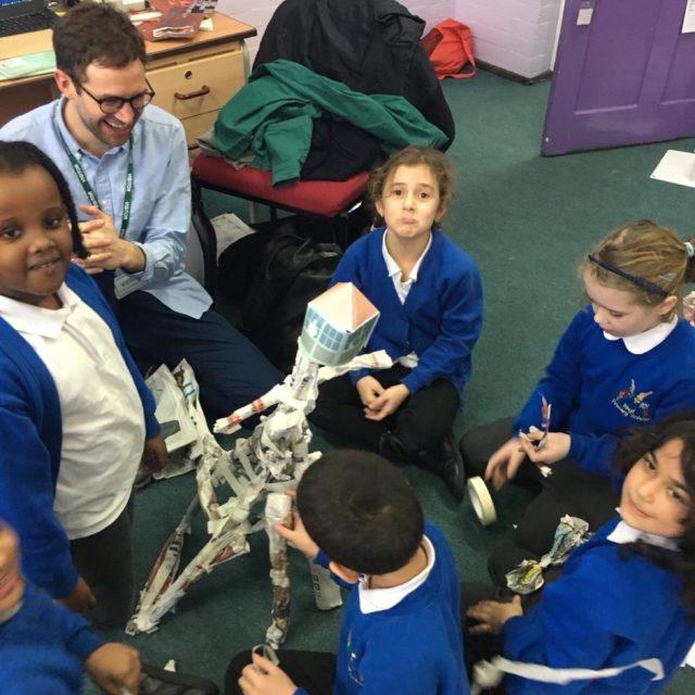 STEAM Workshops at Rhyl Primary