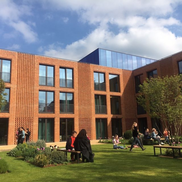 Official Opening at Newnham