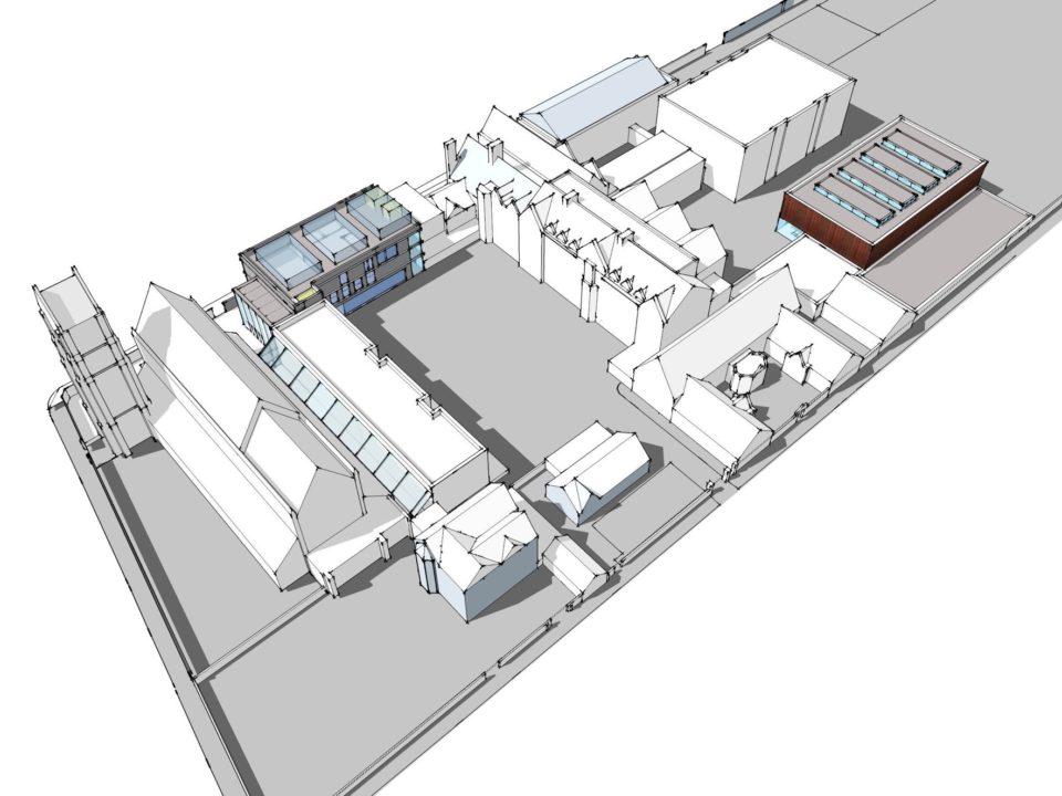 Godolphin and Latymer School Masterplan